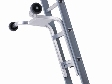 Dirks aluminium afhouder voor  optrede 28/30 cm